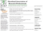 Heartland Association of Research ProfessionalsScreenShot